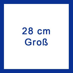 Hausnummer V2A 28 cm
