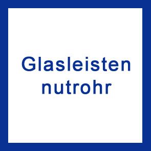 Glasleistennutrohr V2A