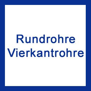 Rundrohr & Vierkantrohr V2A