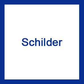 Edelstahl Schilder