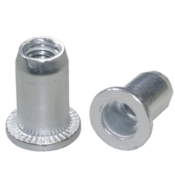 Aluminium Einnietmuttern