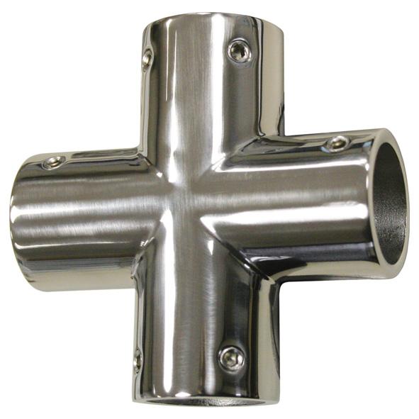 Reling Fitting Kreuz V4A