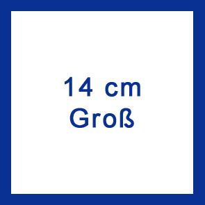 Hausnummer V2A 14 cm