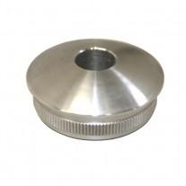 Rohrstopfen für Rundrohr Ø 33,7 x 2,0 mit Bohrung Ø 12,2 mm Edelstahl V2A