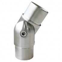 Steckfitting mit Gelenk, für Rohr Ø 42,4x2,0 mm Edelstahl V2A