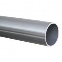 100 cm Rundrohr Ø 42,4 x 2,0 mm, Edelstahl V2A geschliffen