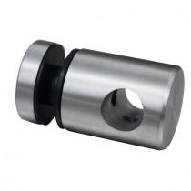 Punkthalter Ø 25 mm für Ø 12 mm Stab Edelstahl V2A