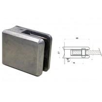 Glasklemme Modell 45 für Rundrohr Ø 42,4 mm Zinkdruckguß