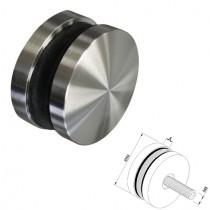 Punkthalter Ø 50 mm für Vierkantrohr Edelstahl V2A