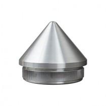 Rohrstopfen spitze Form 50° Edelstahl V2A