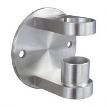 Geländerpfostenhalterung für Rundrohr Edelstahl V2A