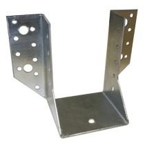Balkenschuh für Balken 80 x 120 mm, mit Zulassung Stahl feuerverzinkt