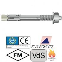 Bolzenanker BZ plus, Größe M8 x 75 mm Edelstahl V4A