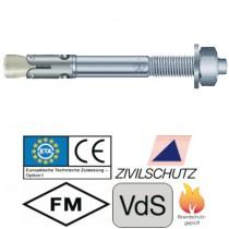 Bolzenanker BZ plus, Größe M8 x 75 mm Stahl verzinkt