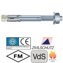 Bolzenanker BZ plus, Größe M10 x 95 mm Stahl verzinkt