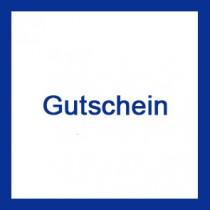 Geschenk - Gutschein im Wert von 25 €