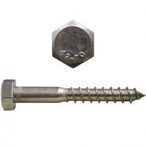 Sechskant - Holzschrauben DIN571 10,0x140 mm Edelstahl V2A