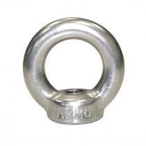 Ringmuttern M12 Edelstahl V2A