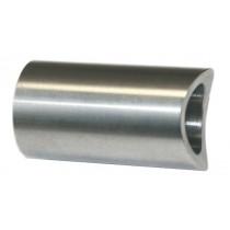 Distanzstück mit Ø 25 x 42 mm für Rundrohr Ø 42,4 mm Edelstahl V2A