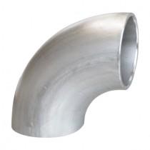 Einschweißbogen für Rundrohr Ø 76,1 mm Edelstahl V2A
