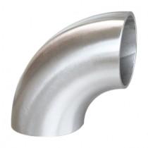 Einschweißbogen für Rundrohr Ø 33,7 mm Edelstahl V2A