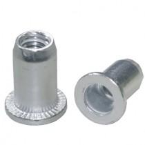 Einnietmuttern M8 aus Aluminium
