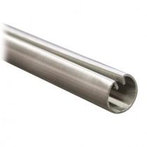 Einfassprofil Ø 18 mm für Bleche, Länge 3 Meter Edelstahl V2A