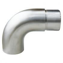 Steckfitting Endstück, für Rohr Ø 42,4x2,0 mm Edelstahl V2A