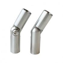 Stabverbinder mit Gelenk, für Ø 12 mm Stab Edelstahl V2A