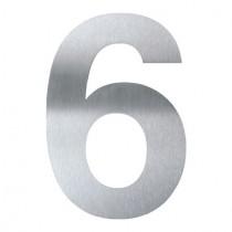 """HAUSNUMMER """"6"""" oder """"9"""" 16 CM GROSS AUS EDELSTAHL V2A"""