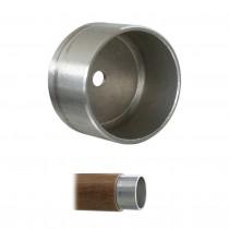 Adapter für Holzhandlauf - Fittinge Edelstahl V2A