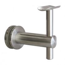 Handlaufträger für Glas und Handlauf mit Ø 42,4 mm Edelstahl V2A