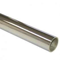 250 cm Rundrohr Ø 25,0 x 1,5 mm, Edelstahl V4A poliert