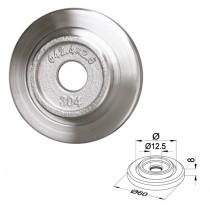 Adapterplatte für Rohr Ø 42,4 x 2,0 / 2,6 mm Edelstahl V2A