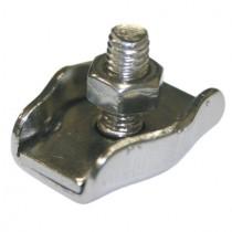 Drahtseilklemme Simplex für 2 mm Drahtseil Edelstahl V4A