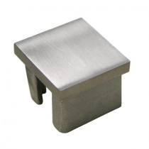 Quadratstopfen für Rohr 50 x 50 x 2,0 Edelstahl V2A