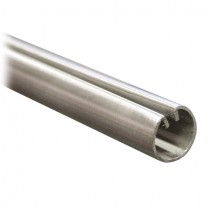 Einfassprofil Ø 18 mm für Bleche, Länge 1,5 Meter Edelstahl V2A
