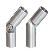 Stabverbinder mit Gelenk, Edelstahl V2A