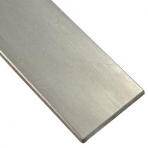 Flachstahl 100 x 10 mm ungeschliffen, Länge 1000 mm Edelstahl V2A