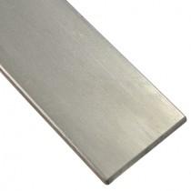 Flachstahl 100 x 10 mm ungeschliffen, Länge 2000 mm Edelstahl V2A