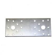 Flachverbinder Stahl feuerverzinkt mit Kombilochung