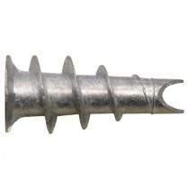 10 Stk. Gipskartondübel aus Metall mit offener Bohrspitze