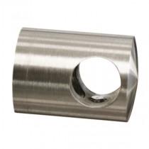 Querstabhalter für Ø Stab 14 mm und flachen Anschluss Edelstahl V2A
