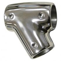Relingfitting T-Stück 60° Winkel Edelstahl V4A