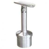 Handlaufträger für Pfosten und Handlauf mit Gelenk Edelstahl V2A