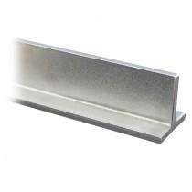 T - Profil 20 x 20 x 3 mm ungeschliffen, Länge 500 mm Edelstahl V2A