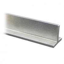T - Profil 20 x 20 x 3 mm ungeschliffen, Länge 1000 mm Edelstahl V2A