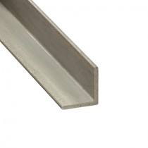 Winkelstahl 25 x 25 x 3 mm ungeschliffen, Länge 1200 mm Edelstahl V2A